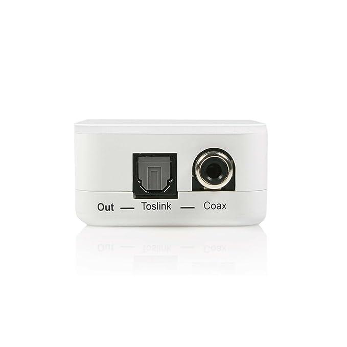 Startech AA2SPDIF - Adaptador conversor de RCA estéreo analógico a ...