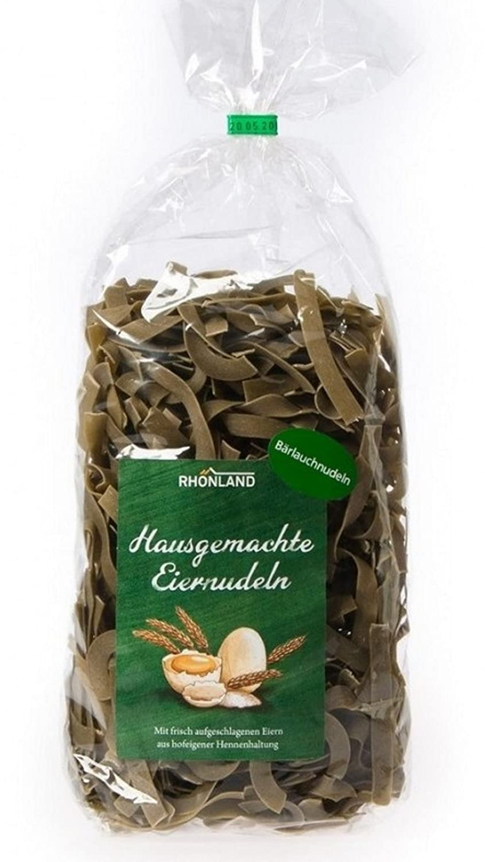 Rhönland Bärlauch-Nudeln, Bärlauchgeschmack, 500 g: Amazon.de ...