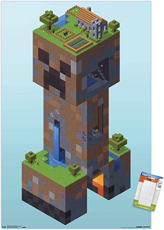 Creeper Bata para ni/ños Minecraft