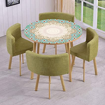 Stupendous Amazon Com Round Table Wall Floor Decal Strikers Removable Machost Co Dining Chair Design Ideas Machostcouk
