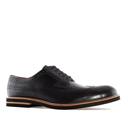 Estilo Oxford zapato En Andres 6109 Cuero Pequeñas Machado tallas qxwtHZf