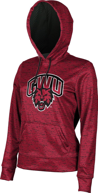 School Spirit Sweatshirt Brushed Central Washington University Girls Pullover Hoodie