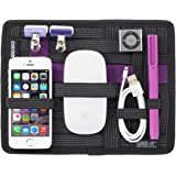 Cocoon GRID-IT - Accessories Bag/iPad 1-9 inches and Organizer | Multifunctional System for Tablet | Portable Organizer - Black - 18,4x1x23,5 cm