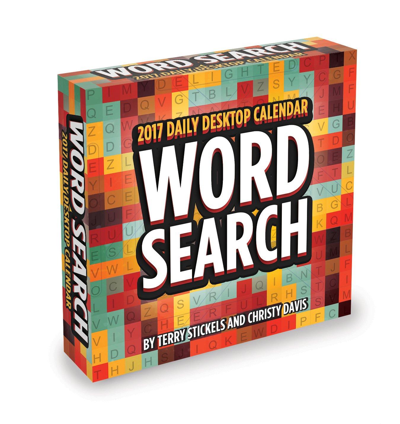 2017 Word Search Daily Desktop Calendar: TF Publishing ...