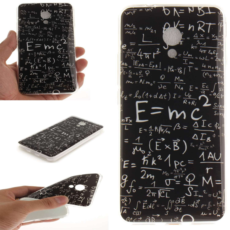 Funda Meizu M5S , Ycloud TPU Caparazón protector Diseño pequeño Estilo silicona Carcasa Case Cover - Fórmula matemática