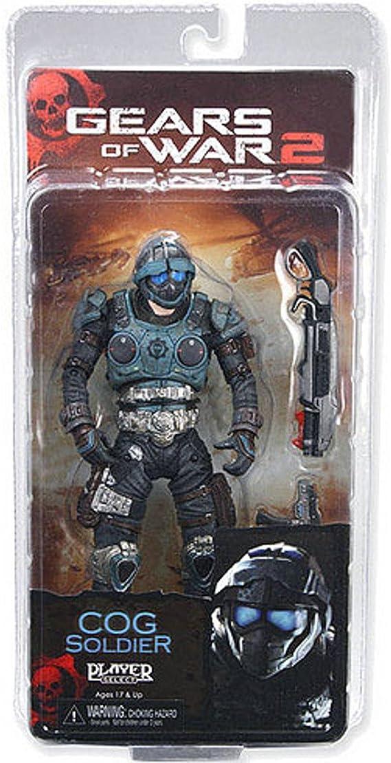 Neca Gears of war Serie 6 Cog Soldier: Amazon.es: Juguetes y juegos