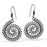 Jaipur Mart Drop Earrings for Women (Silver)(GSE556SLV)