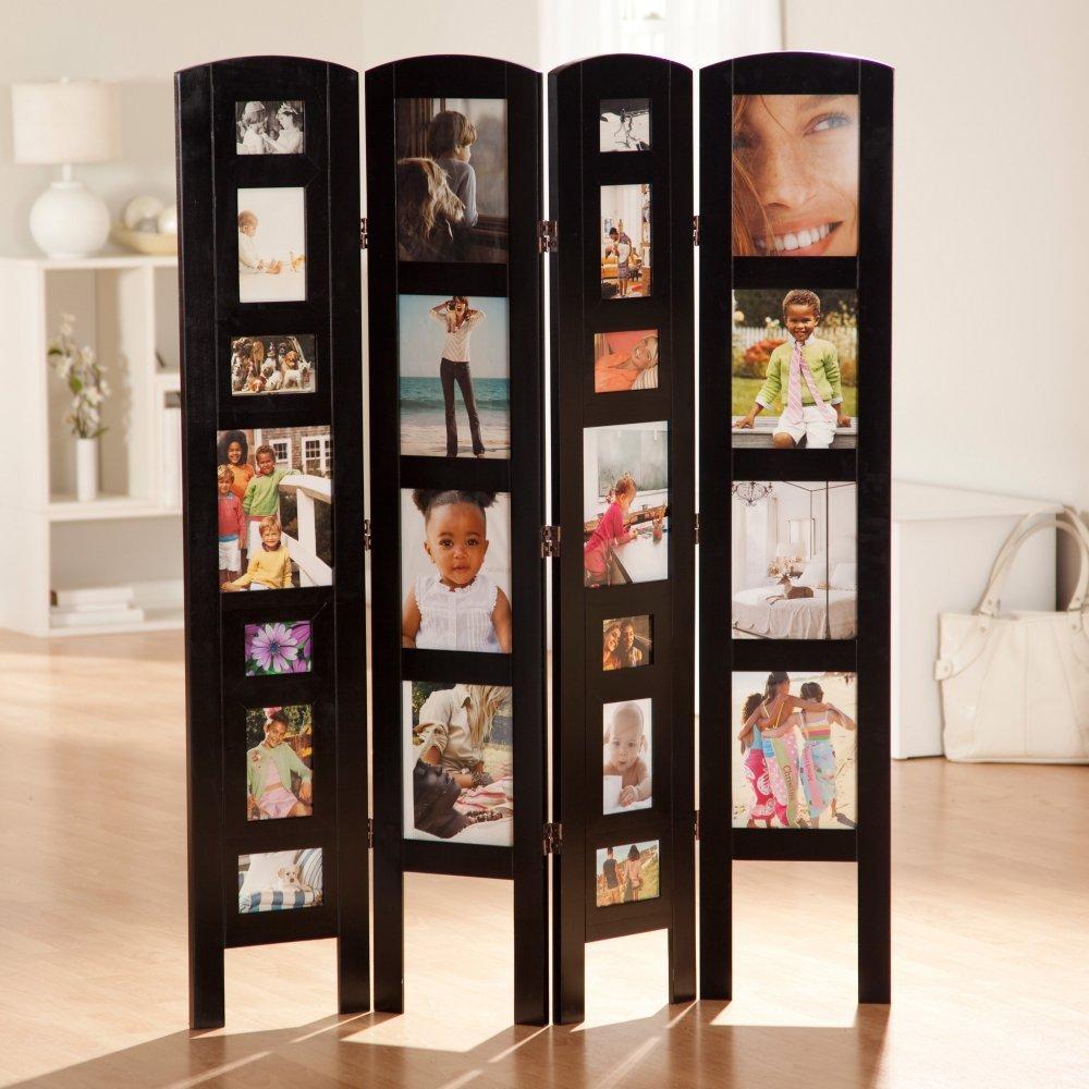 Amazon.com: Memories Photo Frame Room Divider - 4 Panel: Kitchen ...