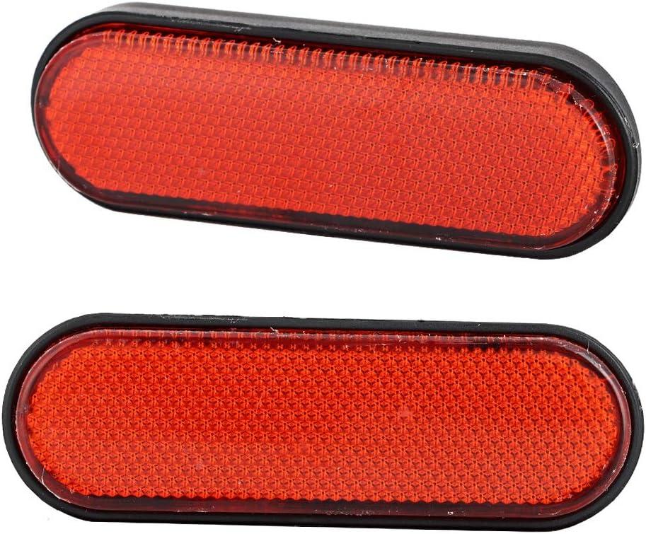 2 Pcs Plastic Motorcycle Dark areas Reflective Signal Marker Reflectors Accessory for Victory Judge Hammer-S Motorcycle reflectors