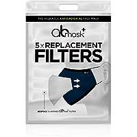 5 x op maat gemaakte vervangingsfilters voor gebruik met het AB-masker - het herbruikbare antibacteriële gezichtsmasker