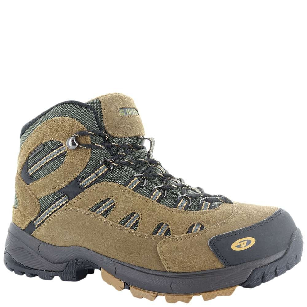 Hi-Tec Men's Bandera Mid Waterproof Hiking Boot, Bone/Brown/Mustard, 10.5 M US by Hi-Tec