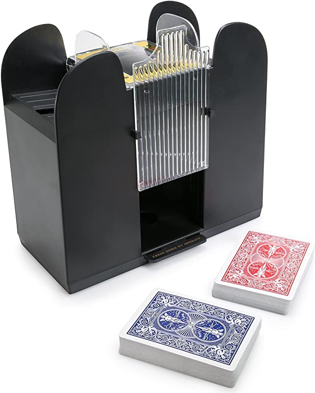 WYZworks Casino 6 Deck Automatic Playing Card Shuffler