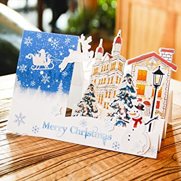paper spiritz pop up cards christmas laser cut cards and envelopes handmade christmas cards for