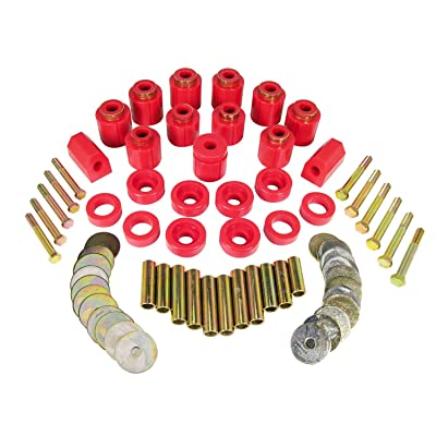 """Prothane 1-113 Red 1"""" Lift Body Mount for YJ: Automotive"""