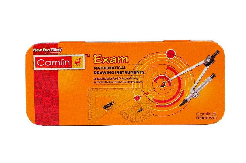 Camlin Kokuyo Exam Mathematical Drawing Instruments - Pack Of 3 Box by StationeryWorld