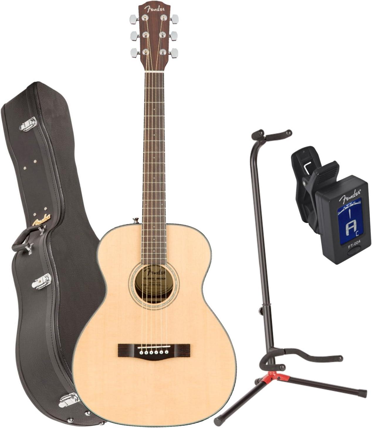 Fender 0962713221 ct-140se Nat w/C acústica guitarra eléctrica w ...