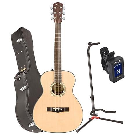 Fender 0962713221 ct-140se Nat w/C acústica guitarra eléctrica w/funda,