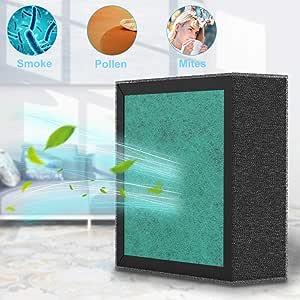 Haipingyang Filtro de Repuesto para purificador de Aire HEPA ...