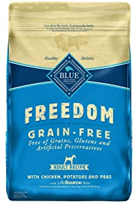Blue Buffalo Freedom Grain-Free Chicken Recipe for Adult Dogs