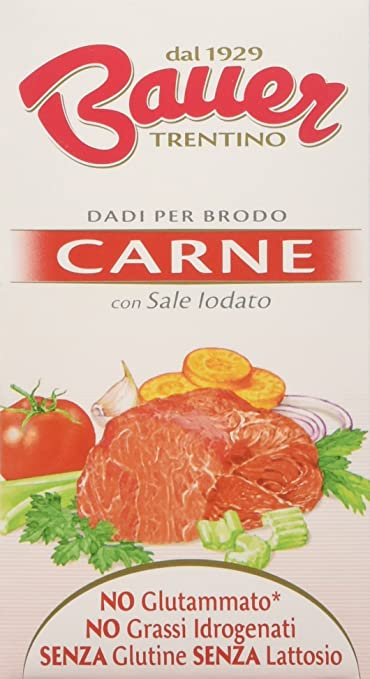 5 opinioni per Bauer Dado per Brodo di Carne 60 gr, Astuccio con 6 Dadi