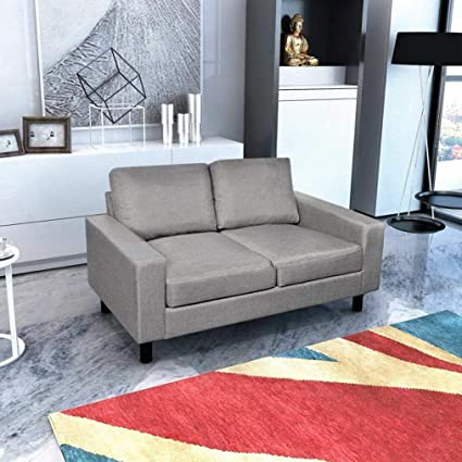 Amazon.com: Hebel 2/3-Seater Sofa Couch Seats Living Room ...