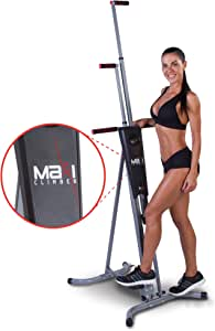 Maxi Climber Machines - Vertical Climbers, As Seen On TV - Combines Muscle Toning + Aerobic Exercise for Maximum Calorie Burn - Full Body Workout with Bonus Fitness App for iOS and Android