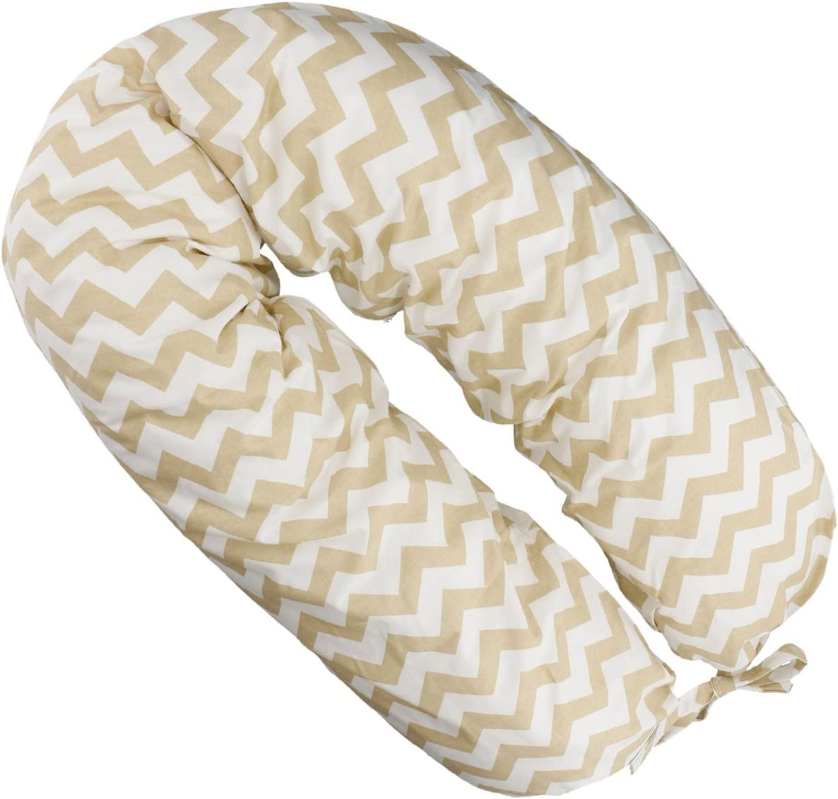 Babys Comfort MATERNITY PILLOW with easy wash removable cover 140cm long 35