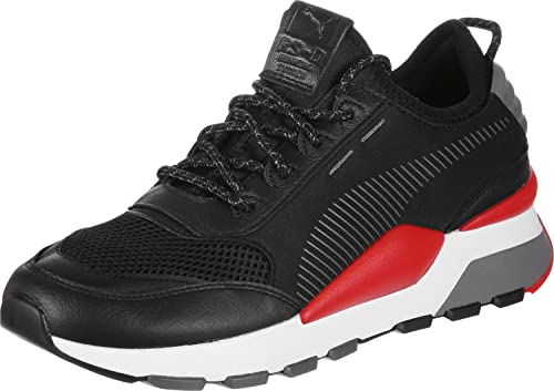 6ef1867bfad Puma RS-0 Play Shoes Black red  Amazon.co.uk  Shoes   Bags