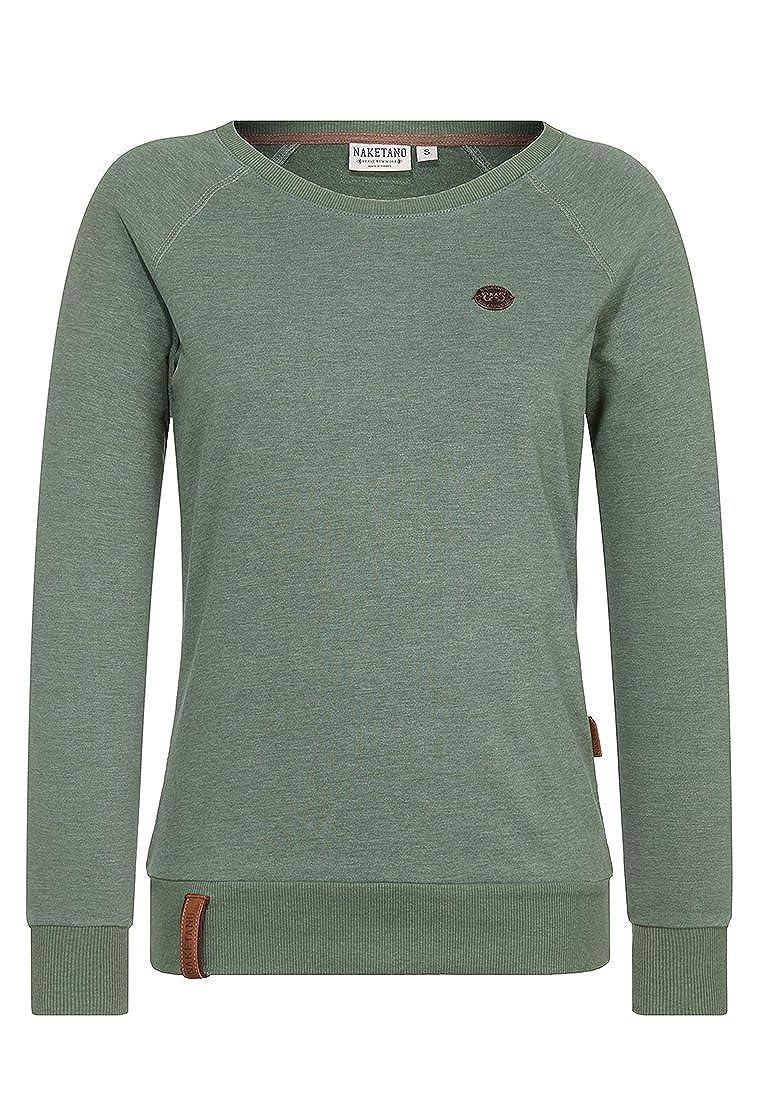 80%OFF Naketano Female Sweatshirt Krokettenhorst, Leaf Green