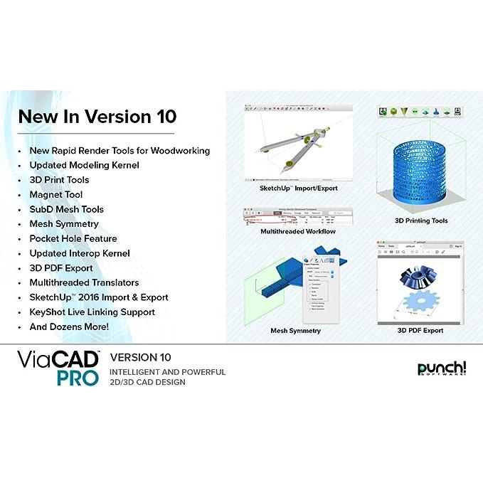 Punch! ViaCAD Pro v10 for Windows PC [Download]