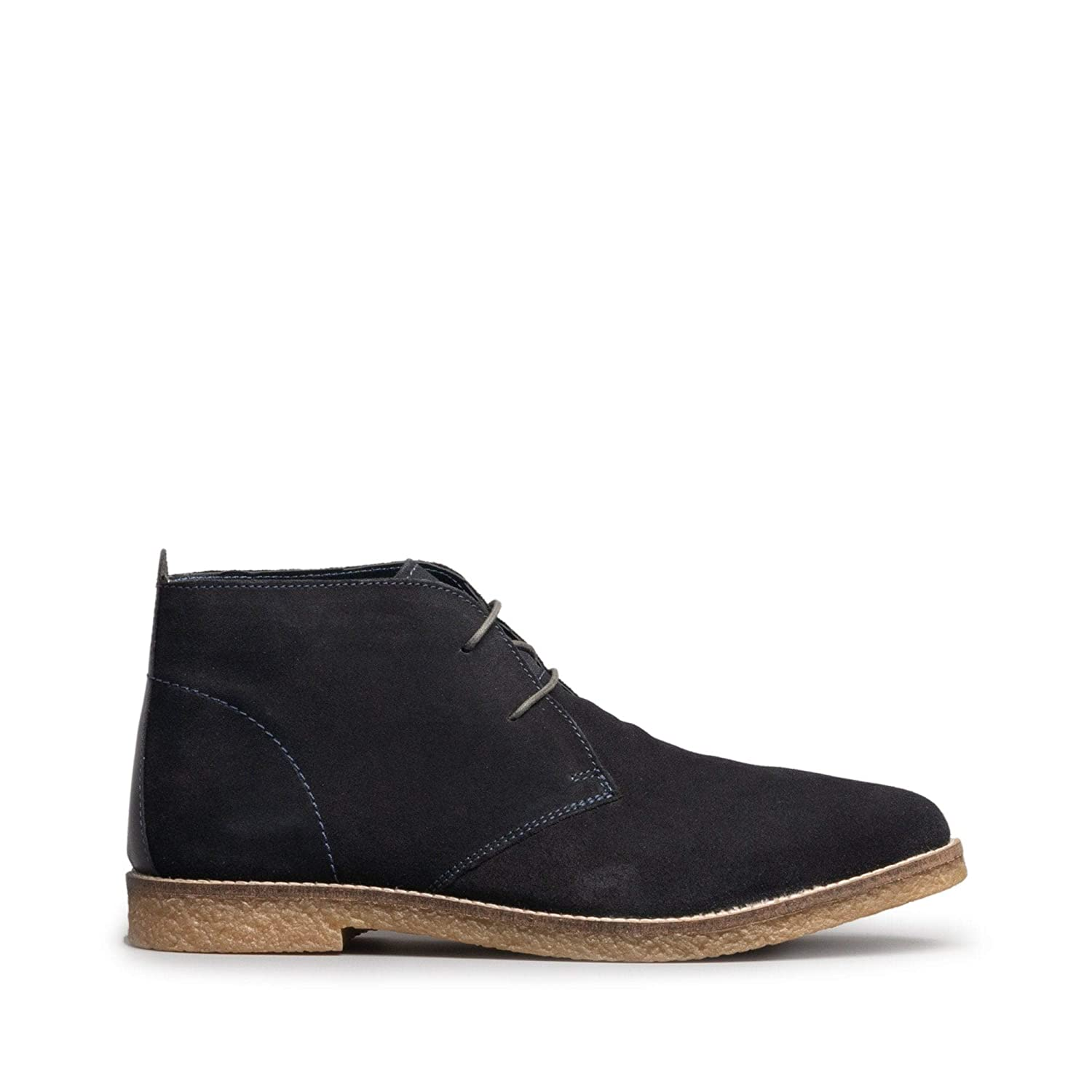 03c49aec80f Silver Street London Barnaby Mens Suede Chukka Boots Navy  Amazon.co.uk   Shoes   Bags