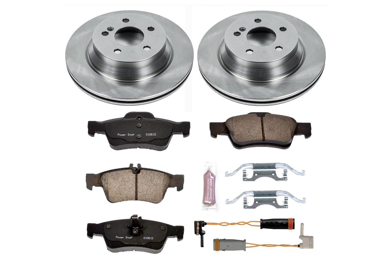 Autospecialty KOE5323 Rear Power Stop Daily Driver OE Brake Kit