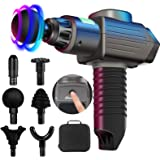 Massage Gun Deep Tissue,Percussion Electric Massage Gun Portable Handheld Massager with Quiet Motor for athlets,Relieves Musc