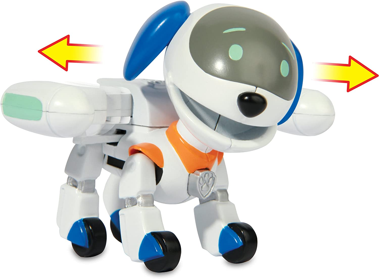 Paw Patrol Action Pack Pup And Badge Robo Dog Amazon De Spielzeug