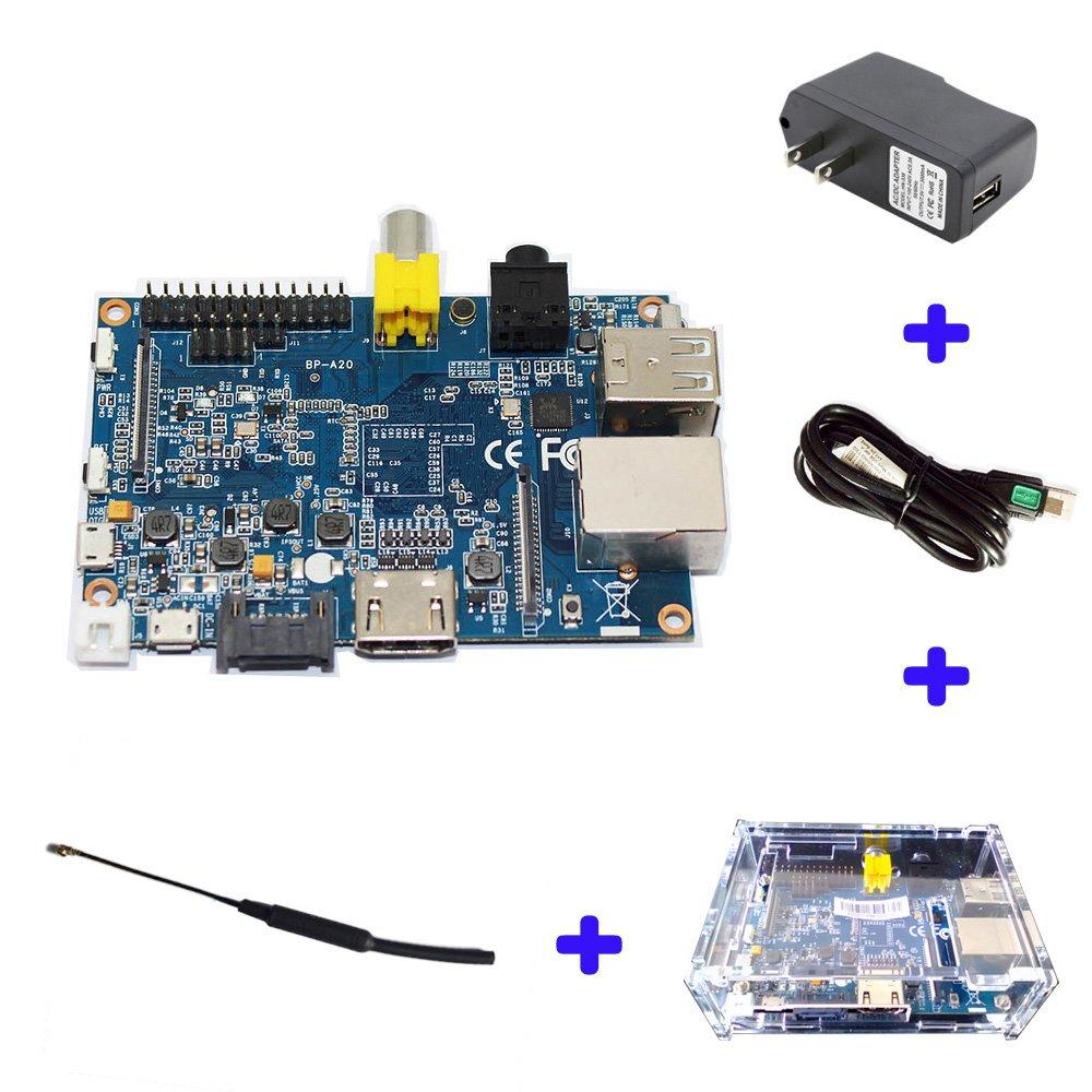 Original Banana Pi BPI M1 A20 Dual Core 1GB RAM Open-source development board single board computer raspberry pi compatible
