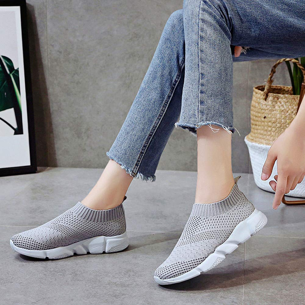 Amazon.com: Shusuen Womens Running Sneakers Ultra Lightweight Breathable Mesh Walking Athletic Shoes: Clothing