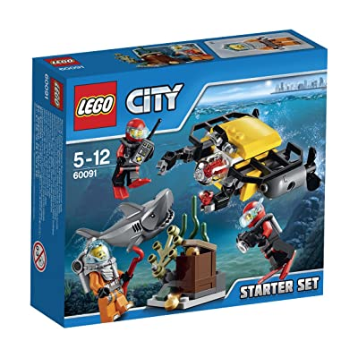 LEGO 60091 City Deep Sea Starter Set: Toys & Games