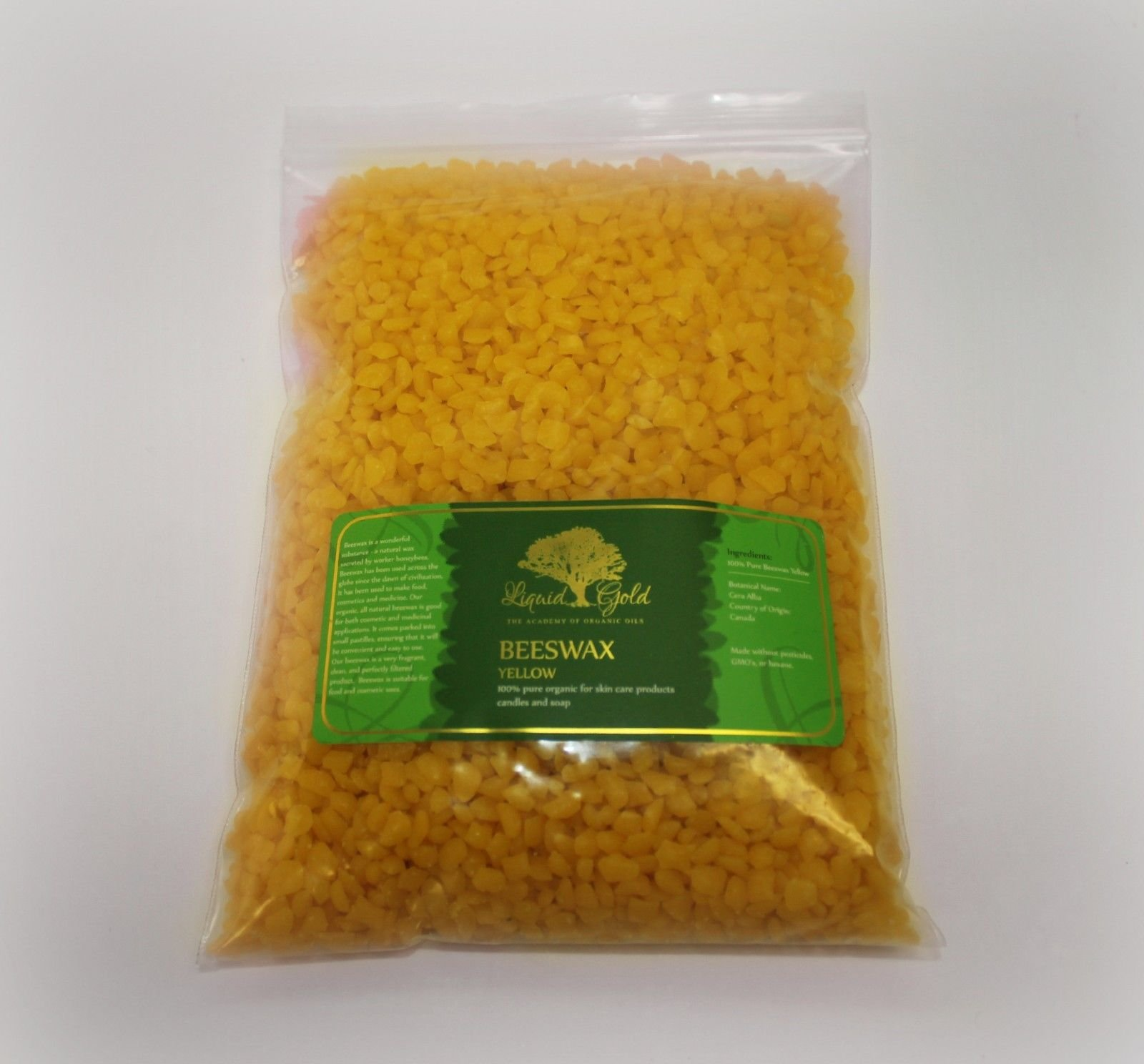 10 Pounds Premium Yellow Beeswax Organic Pastilles 100% Natural Pure by Liquid Gold