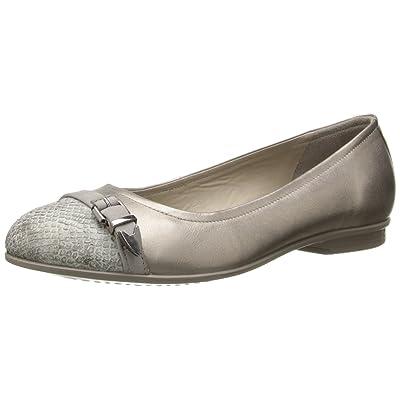 Ecco Footwear Womens Touch Ballerina Buckle Flat | Flats