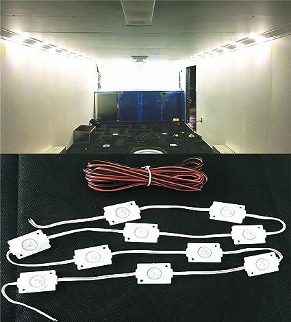 Superb Amazon Com Moyishi 10 Led Loading Interior Lights Kitbright Led Wiring 101 Bdelwellnesstrialsorg