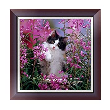 5D Diamond Painting Flower Animal Embroidery Cross Craft Stitch Home Decor Art
