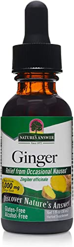 Nature s Answer – Ginger Root, 1000 mg, 1 fl oz Alcohol Free