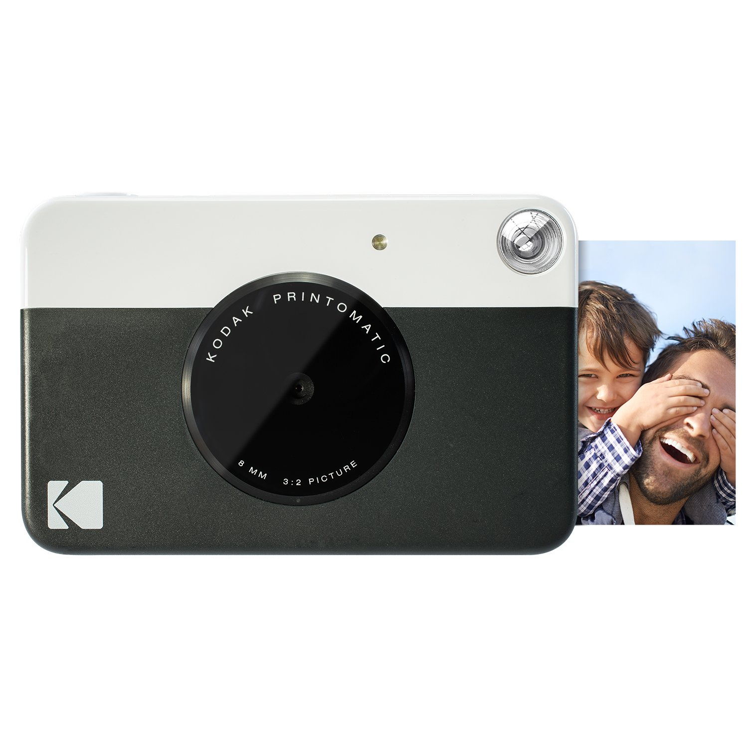 Kodak PRINTOMATIC Digital Instant Print Camera (Black), Full