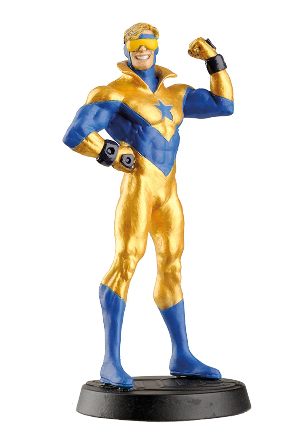 Eaglemoss DC Super Hero Collection #31 Booster Gold Polyresin Figurine Diamond Comic Distributors FEB172648