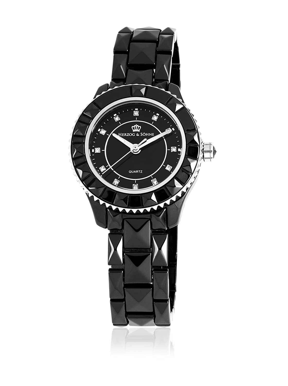 Herzog & SÖhne Damen-Armbanduhr XS Analog Quarz Keramik HSW0A-622A