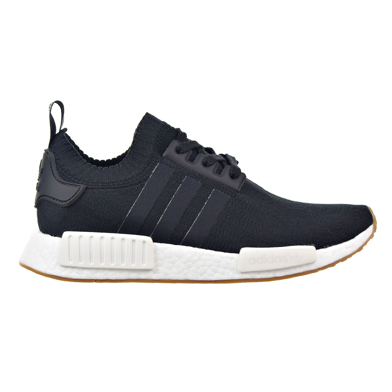 Black Gum Adidas Originals Men's Primeknit NMD_R1 Running shoes (Black)