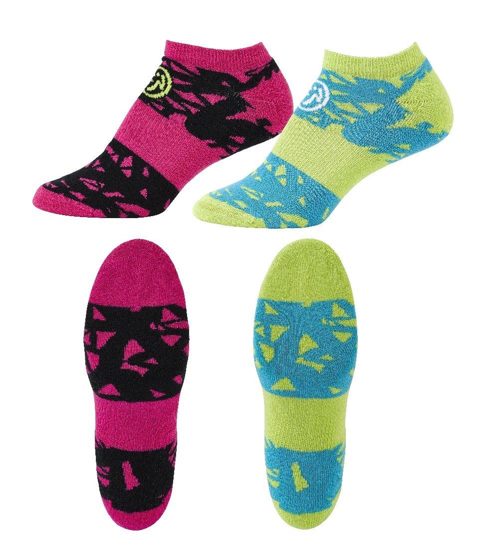 per Fitness Sneaker Outfit Set di 2 Paia di Calzini a Compressione Zumba