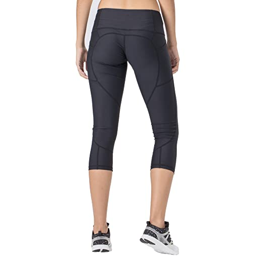 e78d02f672e819 Amazon.com: Ourea Non See-Through Yoga Pants Capris Women Pockets - High  Waist Tummy Control Workout Leggings: Clothing