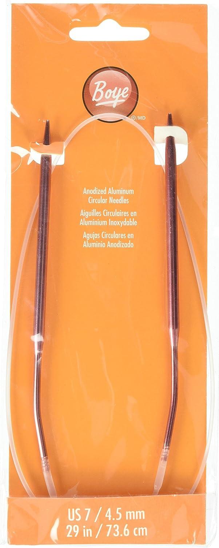 Inc 3227350105M 29 Aluminum Circular Knitting Needles Simplicity Creative Group Size 10-1//2