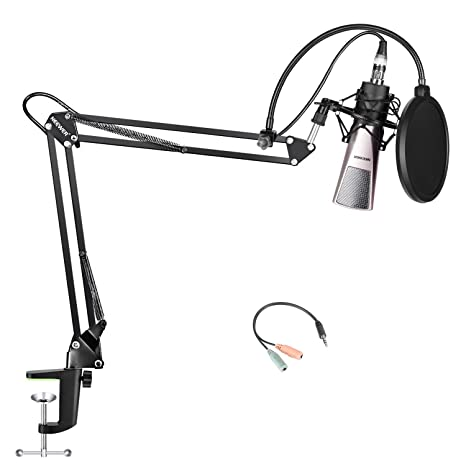 Amazon Com Neewer Condenser Microphone And Accessory Kit For